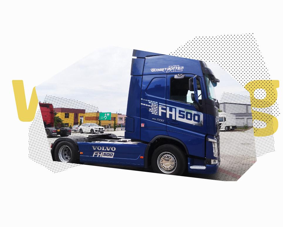 oklejanie_aut ciężarowych